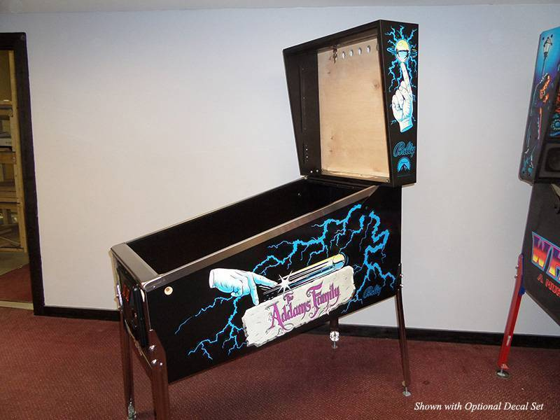 Williams Standard Pinball Cabinet Plans Virtual Pinball