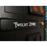Twilight Zone Decal for Coin Door