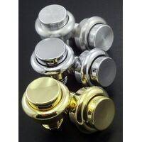 "Flipper Button 1"" (1-1/8"") Premium Edition Aluminium"
