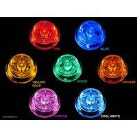 BriteButtons™ Illuminated Flipper Button Set For Stern White Star & SAM System Machines