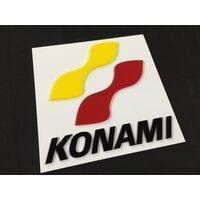 Wall / Door Sign - Konami - 30x30cm