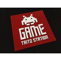 Wall / Door Sign - Taito Game Station - 30x30cm