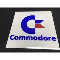 Wall / Door Sign - Commodore - 30x30cm