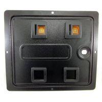 Standard Pinball Coin Door with 2x Coin Entry