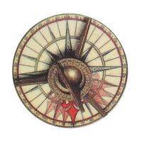 Pirates of the Caribbean / POTC (Stern) Compass Disc Decal
