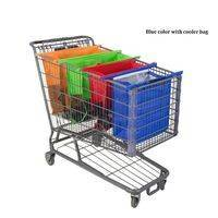 Super handy cart trolly shopping bags set (4 pieces)