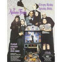 The Addams Family (Bally) Flyer