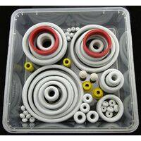 Rubber rings assortment, USA type - WHITE