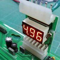 Homepin WMS reset board with digital voltmeter display