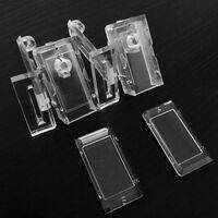 Williams/Bally WPC-Era Clear Coin Door Button Conversion Kit (6 Pieces)