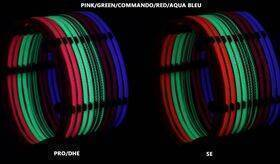 DarkSide CONNECT Dimmable Rigid LED Strip - 30cm - UV - G2-Pro