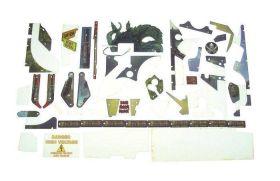 Stern PIRATES CARIBBEAN Plastic set - 803-5000-92