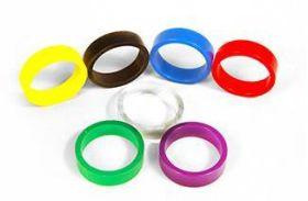 """Super-Bands Flipper Mini 0.5"""" x 1.25"""" ID Ring"""