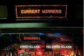 DMD No Glare Film For Stern Pinball Machines - Inner Mounting