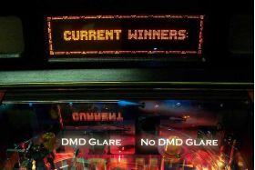DMD No Glare Film For Williams/Bally WPC Era Pinball Machines - Inner Mounting
