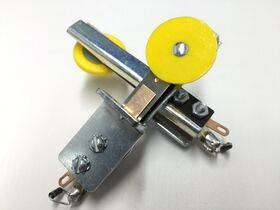 Target Switch - Reinforced - Round Yellow - Front Mount