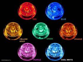 BriteButtons™ Illuminated Flipper Button Set For  JJP Wizard Of Oz and Hobbit Pinball Machines
