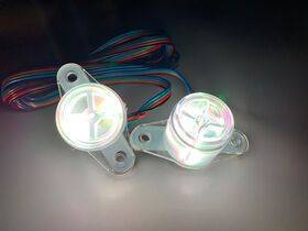 BriteButtons™ RGB Illuminated Flipper Button Set For Early Solid State Machines