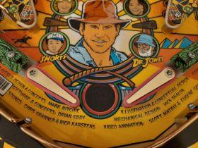 Indiana Jones (Williams) IJ Ramp/Bracket/Ballguide Dressing Decal Set