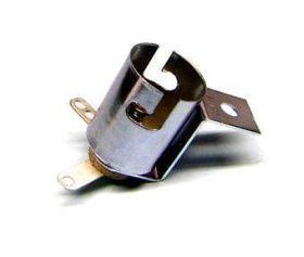 Lamp socket - medium bayonet 3/4 inch Z brkt. - 077-5101-00