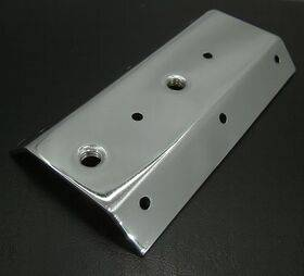 Leg bolt plate/bracket - Williams/Bally - New Style - Chrome