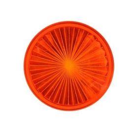"Playfield insert circle1-1/2"" amber star"