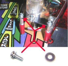 """Machine Screw #6-32 x 3/8"""" Pan Screw With Locking Washer"""