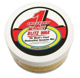Blitz Carnauba Paste Wax - 12 Ounce Jar