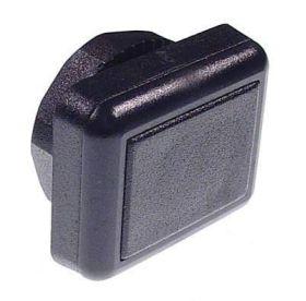Stern Lockbar Button Hole Plug - square top