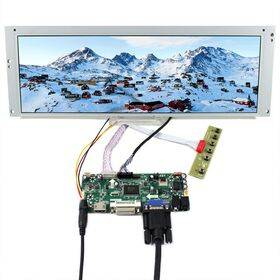 "LCD Widescreen Display Screen - 14.9"" 1280x390 - HDMI VGA DVI input"
