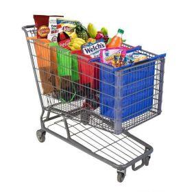 Super handige winkelwagen boodschappentassen set (4 stuks)