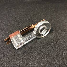 HighFlow Leaf Switch - Acrylic/Transparant with Screw Thread for flipper buttons