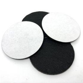 Leg Leveler Rubber Castor Felt Pads (set of 4)