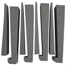 Arrowzoom Speaker / Subwoofer Vibration Absorption Riser Standard - Isolation Foam Pad - 30 x 20 x 4 cm