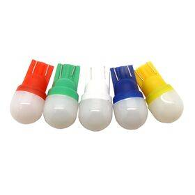 T10 / 555 HighFlow FrostedLens Ultra Bright 2SMD Pinball LED Bulb