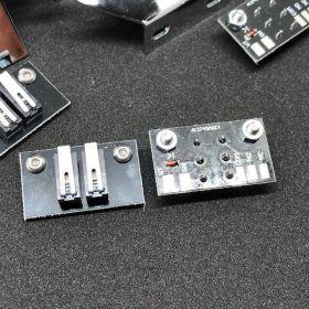 Twilight Zone Mini Playfield Switch Kit - Chrome
