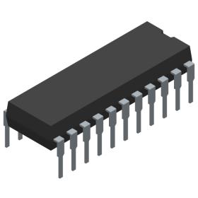 IC - 22 pin DIP CMOS RAM PCD5101P
