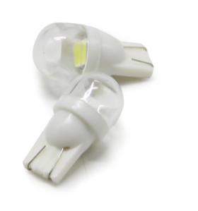 T10 / 555 HighFlow Clear Lens Ultra Bright 2SMD Pinball LED Bulb