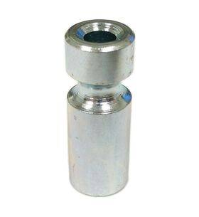 """Williams/Bally 1"""" Metal Post With Groove / Post spacer #8 x 1 inch - 02-4434"""