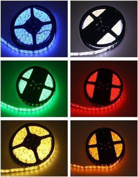 LED Strip Flexible 12V - IP65 Waterproof - 300x SMD 3528 - 5M Roll